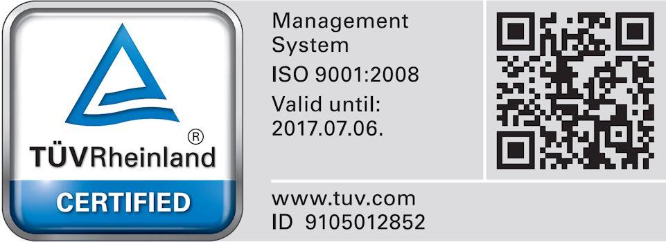 ISO minősítés